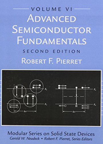 9780130617927: Advanced Semiconductor Fundamentals (Modular Series on Solid State Devices, V. 6)