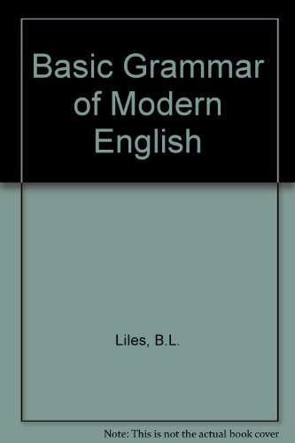 9780130618535: Basic Grammar of Modern English