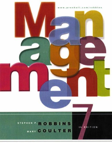 9780130619174: Management, 7th Ed.