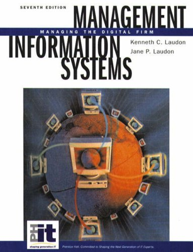 9780130619600: Management Information Systems: Managing the Digital Firm