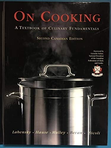 9780130620934: On Cooking - With CD (Canadian)