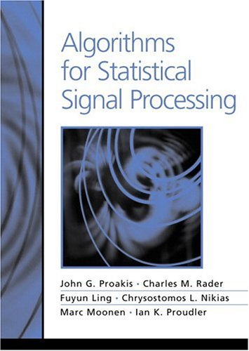 9780130622198: Algorithms for Statistical Signal Processing