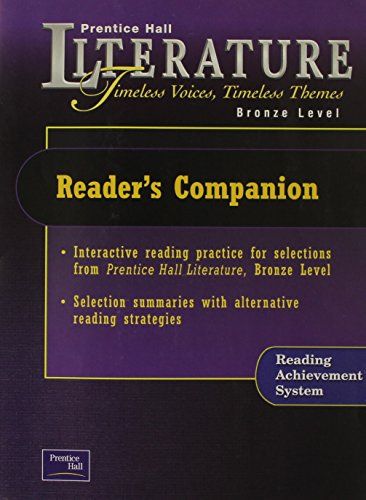 Litereature: Timeless Voices, Timeless Themes (Reader's Companion: Prentice Hall Pearson