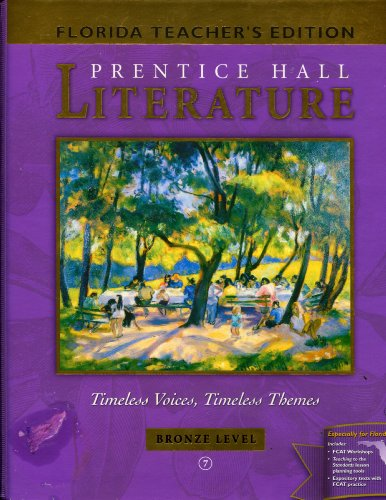 9780130624420: Literature: Timeless Voices, Timeless Themes - Bronze Level