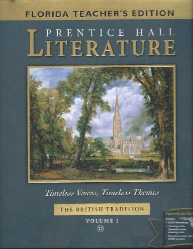 9780130624499: Literature Timeless Voices, Timeless Themes The British Tradition (Volume 1 Florida Edition)