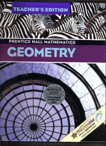 9780130625724: Geometry Teacher's Edition  (Prentice Hall Mathematics)