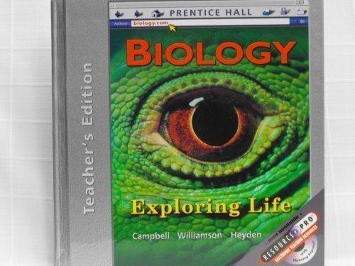 9780130625939: Prentice Hall: Biology - Exploring Life - Teacher's Edition