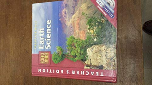 9780130626486: Prentice Hall Science Explorer Earth Science Teacher Edition 2002 Isbn 0130626481