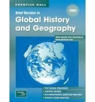 9780130628855: Brief Review in Global History and Geography