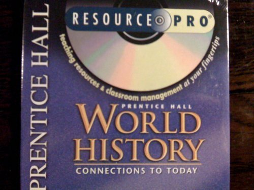9780130629036: Prentice Hall World History Resource Pro