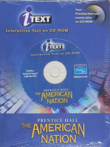 9780130629081: THE AMERICAN NATION 9TH EDITION I-TEXT CD-ROM SINGLE USER 2003C