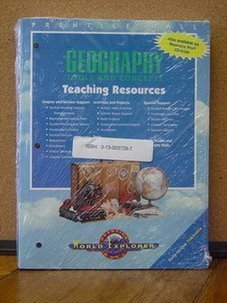 9780130629609: Geography Tools and Concepts Teaching Resources