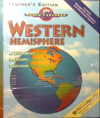 9780130630049: Western Hemisphere: Geography; History; Culture