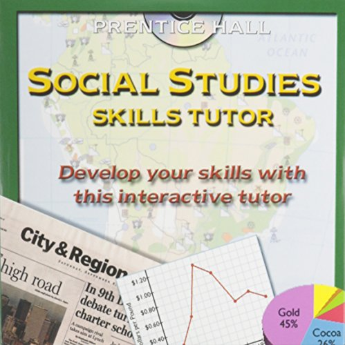 9780130630711: SOCIAL STUDIES SKILLS TUTOR CD-ROM 2003C