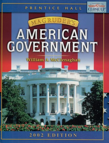 9780130630759: MAGRUDER'S AMERICAN GOVERNMENT STUDENT EDITION 2002C