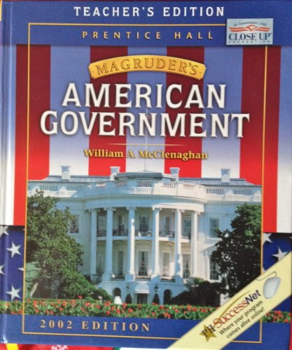 9780130630780: Magruder's American Government, Teacher's Edition