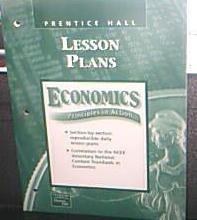 9780130630919: Economics Principles in Action Lesson Plans