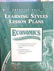 9780130630926: Economics Principles in Action Learning Styles Lesson Plans