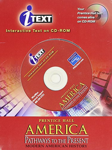 9780130633521: AMERICA: PATHWAYS TO THE PRESENT 5TH EDITION MODERN I-TEXT CD 2003C