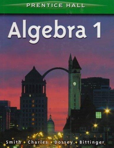 9780130633590: Prentice Hall Algebra 1
