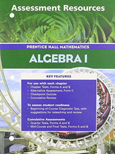 9780130633897: ALGEBRA 1 3RD EDITION ASSESSMENT RESOURCES 2004C