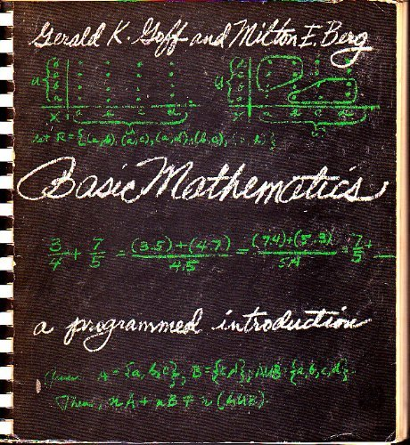 9780130634382: Basic Mathematics: A Programmed Approach