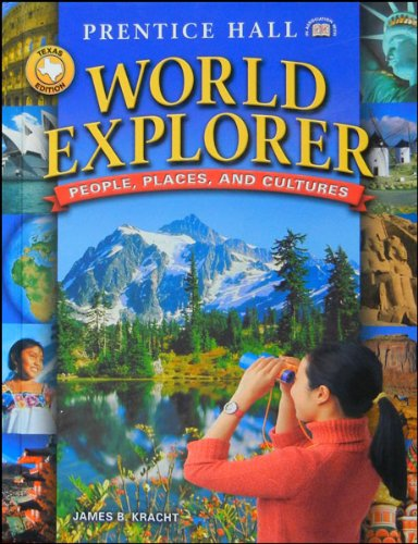 9780130634955: People, Places, and Cultures (World Explorer, Texas)