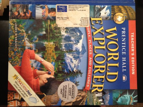 9780130634962: Prentice Hall World Explorer: People, Places, and Cultures Texas