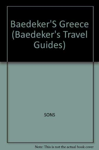 9780130635952: Baedeker Greece (Baedeker's Travel Guides)