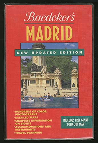 9780130636034: Baedeker'S Madrid, 2nd Ed.