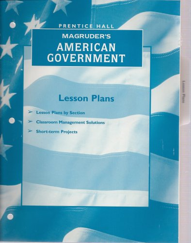 Magruder's American Government: Lesson Plans: Prentice Hall