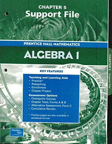 9780130638007: Algebra 1, Chapter 5 Support File: Graphs and Functions (Prentice Hall Mathematics)