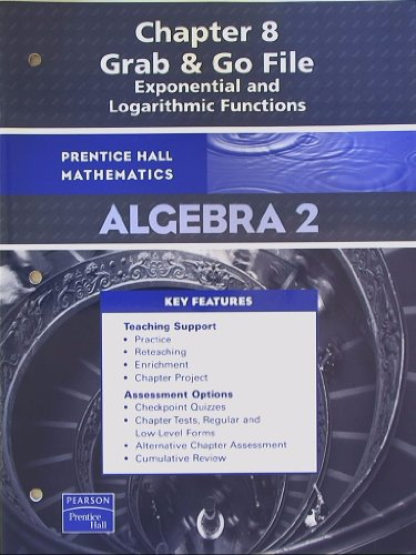 Prentice Hall Mathematics Algebra 2 Chapter 8: Pearson Prentice Hall