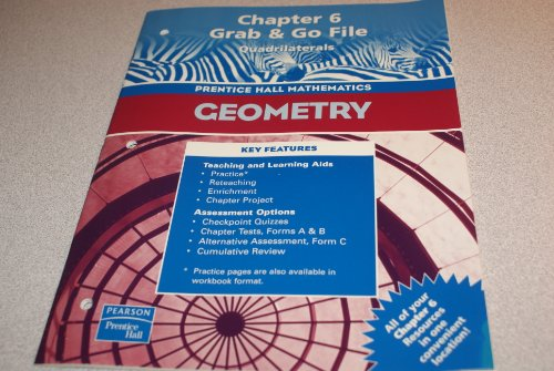 Geometry, Chapter 6 Grab & Go File:
