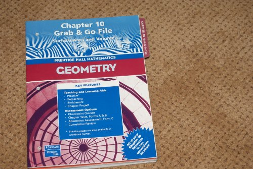 Geometry, Chapter 10: Grab & Go File-: staff
