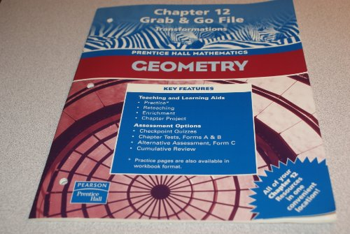 Geometry, Chapter 12 Grab & Go File:Transformations: staff