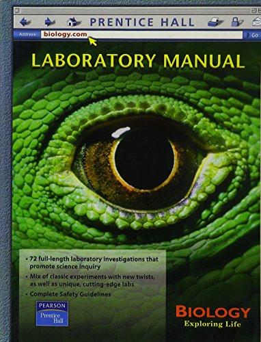 9780130642660: Biology Exploring Life: Laboratory Manual