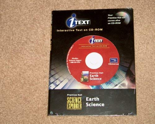 9780130642806: Prentice Hall Science Explorer Earth Science Interactive Text on CD-ROM