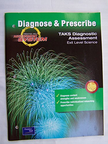 9780130644428: Prentice Hall Assessment System Diagnose & Prescribe Taks Diagnostic Exit Level Science (Texas)