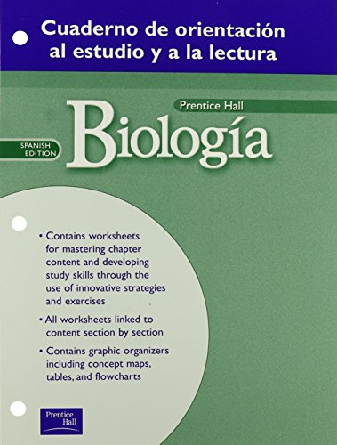 9780130645043: BIOLOGY GUIDED READING & STUDY WORKBOOK SPANISH WORKBOOK 1ST EDITION    GRADE 10 2002C