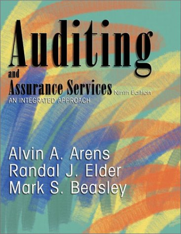 9780130646200: Auditing and Assurance Services: An Integrated Approach