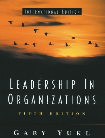 9780130647504: Leadership in Organizations (International Edition)