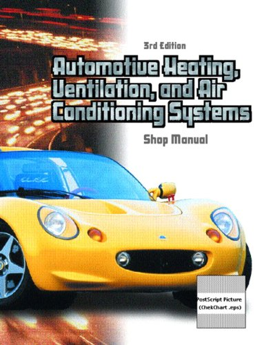 Automotive Heating, Ventilation, and Air Conditioning Systems Shop Manual