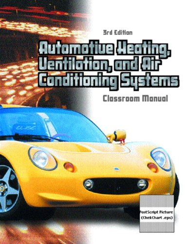 9780130647894: Automotive Heating, Ventilation and Air Conditioning Systems Package (3rd Edition)