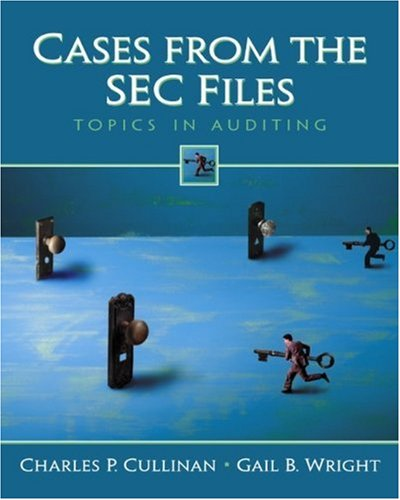 9780130648167: Cases from the SEC Files: Topics in Auditing