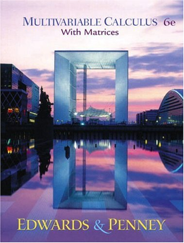 9780130648181: Multivariable Calculus with Matrices (6th Edition)