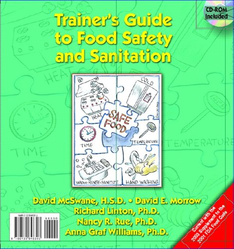 9780130648303: Trainer's Guide to Food Safety and Sanitation