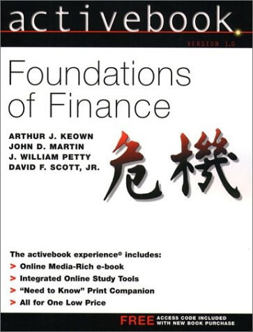 9780130648402: Foundations of Finance ActiveBook