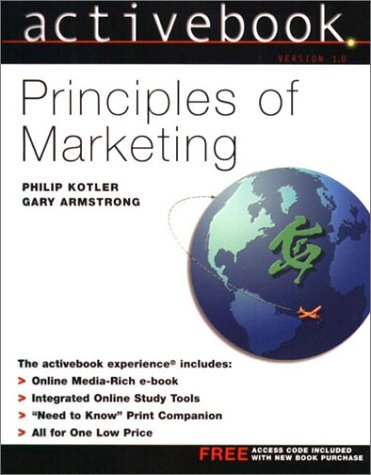 Principles of Marketing ActiveBook: Philip Kotler, Gary