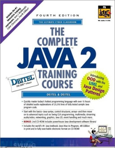 9780130649348: Complete Java 2 Training Course, Student Edition